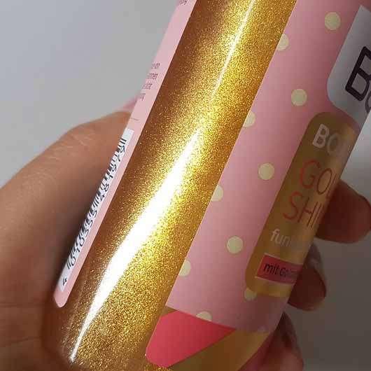 Balea Bodyspray Golden Shine (LE) - Farbe durch die Flasche