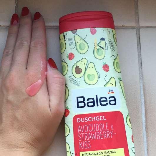 Konsistenz - Balea Duschgel Avocuddle & Strawberry-Kiss