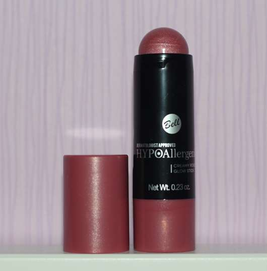Bell HYPOAllergenic Creamy Rouge Glow Stick, Farbe: shining pink