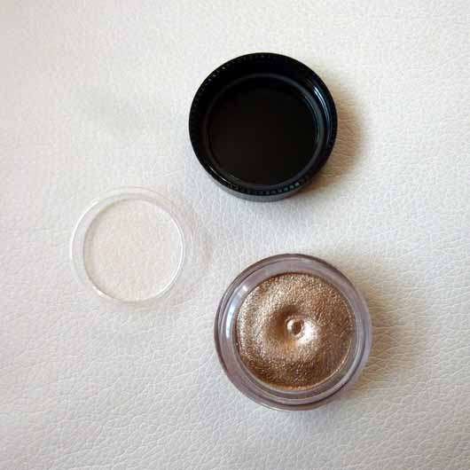 Bell HYPOAllergenic Waterproof Mousse Eyeshadow, Farbe: 01 shimmering copper - Tiegel geöffnet