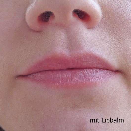 Lippen mit  Blistex Lip Tone Soft Color