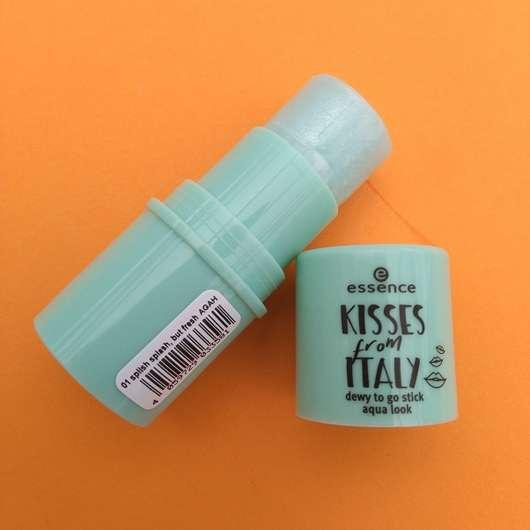 essence kisses from italy dewy to go stick aqua look, Farbe: 01 splish splash, but fresh (LE)