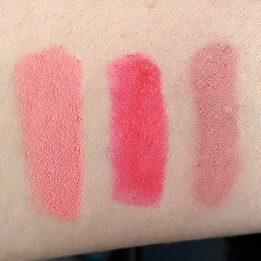 essence kisses from italy mini lipstick kit, Farbe-01 ciao bellissima (LE) - Swatches