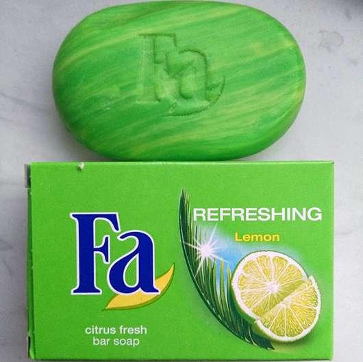 <strong>Fa</strong> Refreshing Lemon citrus fresh bar soap