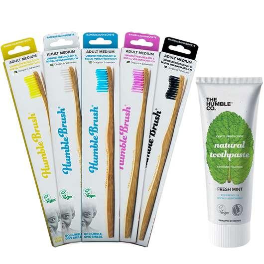 Umweltbewusste und sozial verantwortliche Zahnpflege mit Humble Brush!