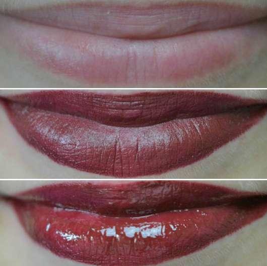 Tragebilder KISS Professional New York Color Intense Lipstick, Farbe: 15 Some Wine?