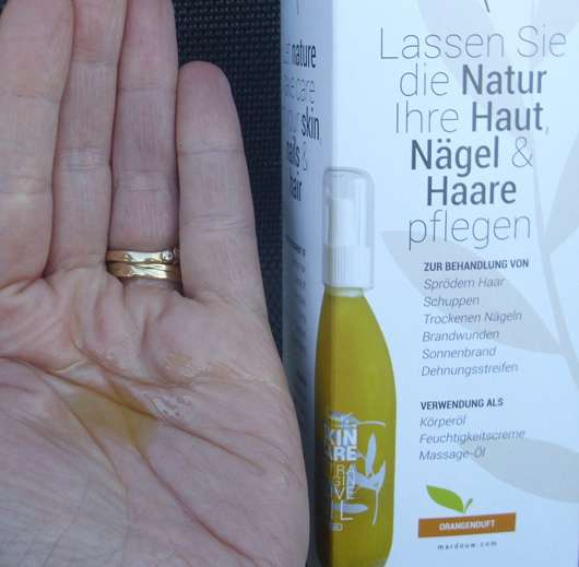 Konsistenz - Mardouw SKIN CARE Olive Oil