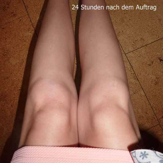 Mary Kay Subtle Tanning Lotion (LE) - Hautfarbe nach 24 Stunden nach Auftrag der Selbstbräuner-Lotion