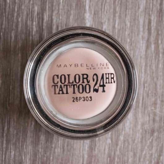 <strong>Maybelline New York</strong> Eyestudio Color Tattoo 24HR Gel-Cream Eyeshadow – Farbe: 91 Crème de Rose