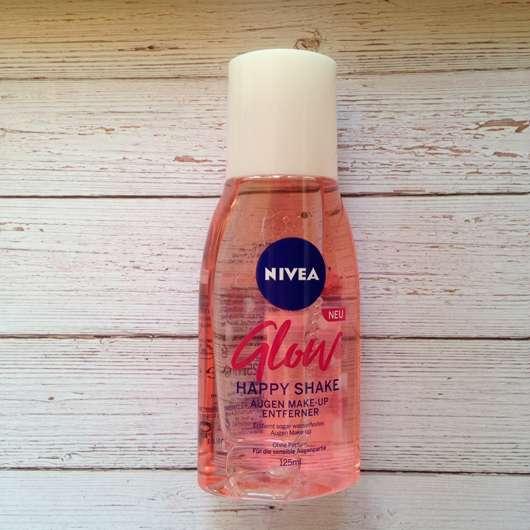 NIVEA Glow Happy Shake Augen Make-up Entferner