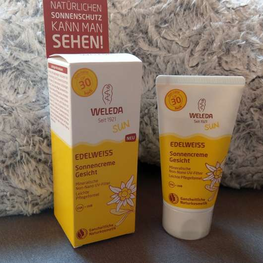 <strong>Weleda</strong> Edelweiss Sonnencreme Gesicht LSF 30