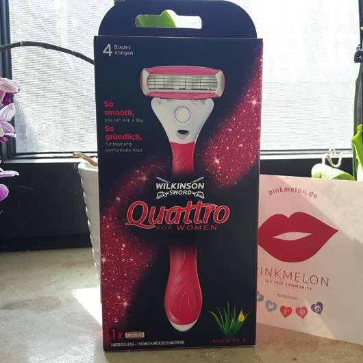 Wilkinson Sword Quattro for Women Rasierer