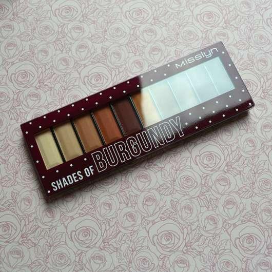 Misslyn Must-Have Eyeshadow Shades, Farbe: Shades Of Burgundy