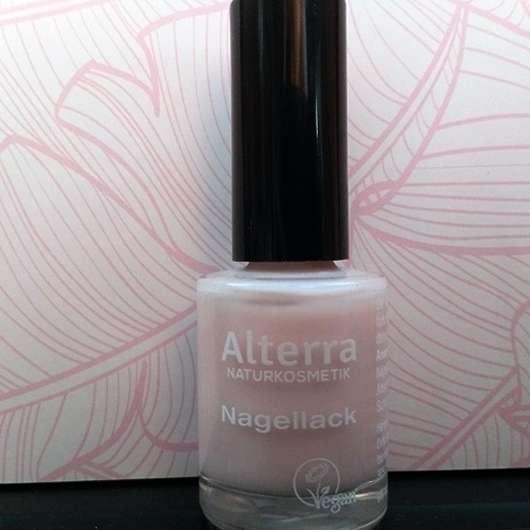 <strong>Alterra Naturkosmetik</strong> Nagellack - Farbe: 010 Rose Blossom