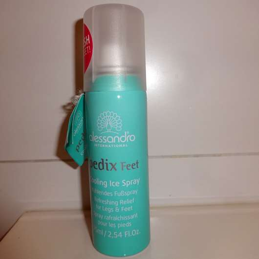 alessandro Pedix Feet Cooling Ice Spray