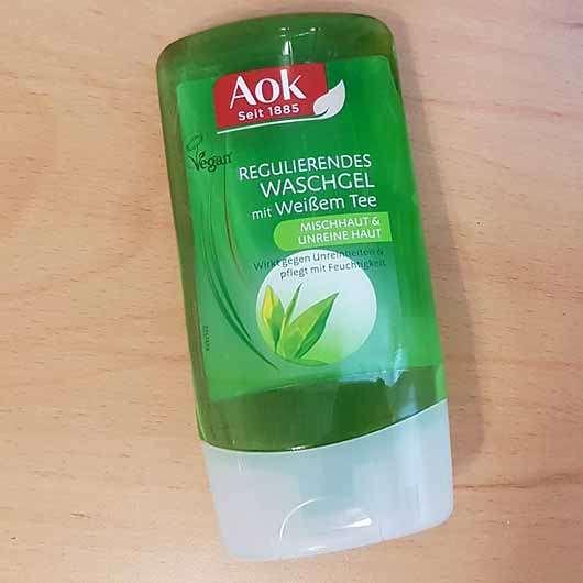Aok Regulierendes Waschgel mit Weißem Tee - Flasche