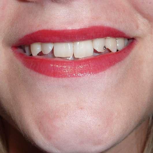 Lippen mit ARTDECO x Claudia Schiffer Make Up Lip Gloss, Farbe: High Heel