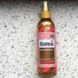 Produktbild zu Balea Bodyspray Golden Shine (LE)