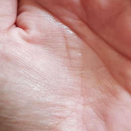 Konsistenz des Balea Bodysprays Himbeere Litschi (LE)