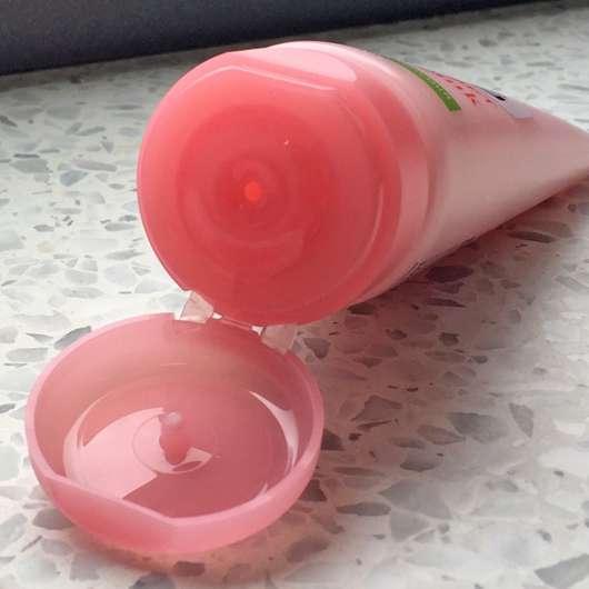 Dosieröffnung - Balea Handsorbet Perfect Pink