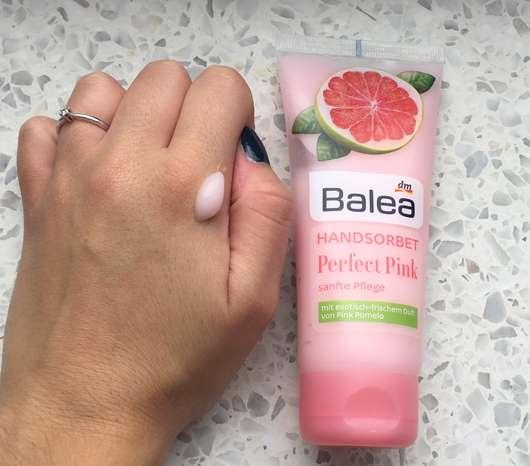 Konsistenz - Balea Handsorbet Perfect Pink