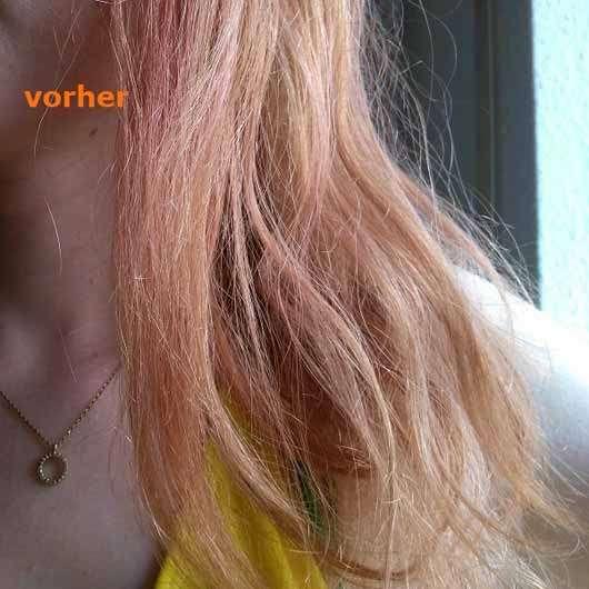 Balmain Paris Leave-In Conditioning Spray - Haare vor der Benutzung