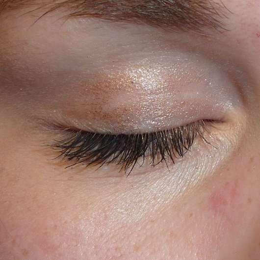 Bell HYPOAllergenic Waterproof Mousse Eyeshadow, Farbe: 01 shimmering copper - nach 8 Stunden auf dem Lid