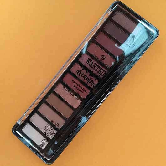 essence wanted: sunset dreamer eyeshadow palette, Farbe: 01 desert heat (LE) - Palette