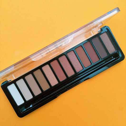 essence wanted: sunset dreamer eyeshadow palette, Farbe: 01 desert heat (LE) - Farben in der Palette