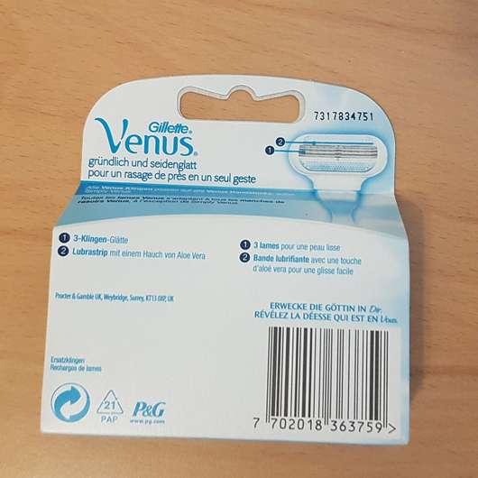 Gillette Venus Rasierklingen