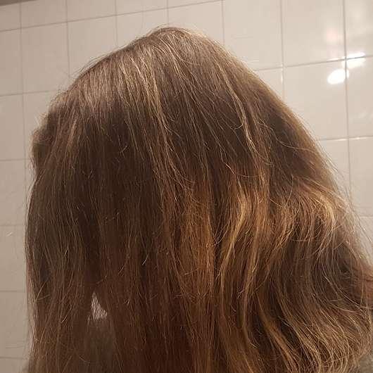Haare nach der Testphase des Luvos Shampoos (mit ultrafeiner Heilerde)