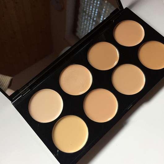 Makeup Revolution Ultra Professional Cover & Conceal Palette, Farbe: Light - Palette geöffnet