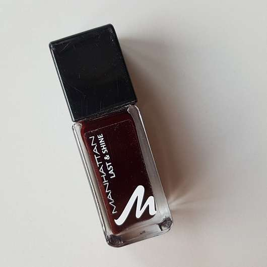 <strong>MANHATTAN</strong> Last & Shine Nail Polish – Farbe: 560 Red Night
