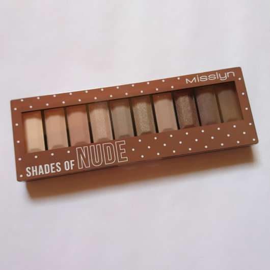 <strong>Misslyn</strong> Must-Have Eyeshadow Shades - Farbe: 4 Shades Of Nude