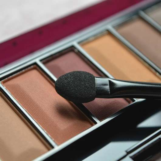 Applikator der Misslyn Must-Have Eyeshadow Shades, Farbe: Shades Of Burgundy