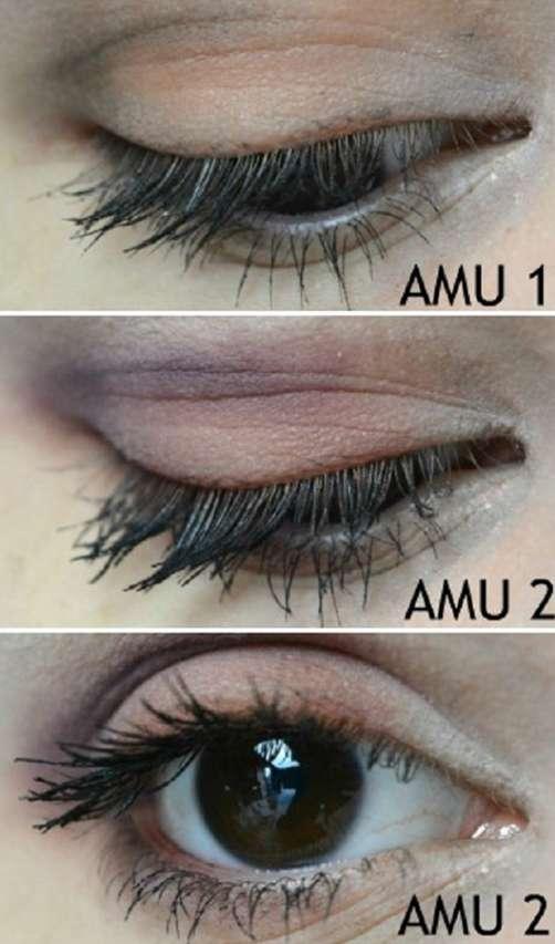 Augen Make-up mit Misslyn Must-Have Eyeshadow Shades, Farbe: Shades Of Burgundy