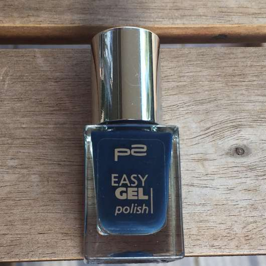 <strong>p2 cosmetics</strong> easy gel polish - Farbe: 130 deep ocean