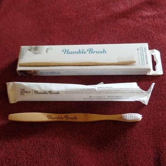 The Humble Co. Humble Brush Bambuszahnbürste (Mittel)