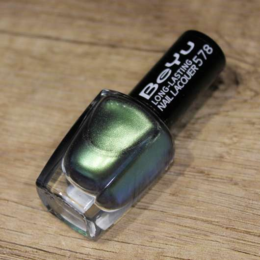 <strong>BeYu</strong> Long-Lasting Nail Lacquer – Farbe: 578 Seafoam (LE)