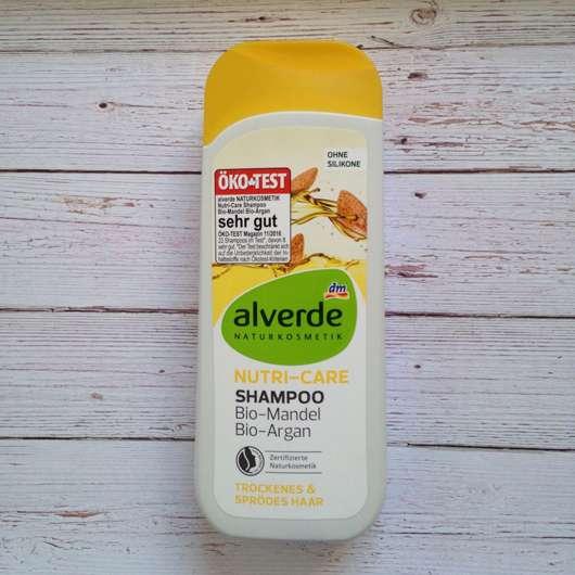 alverde Nutri-Care Shampoo Bio-Mandel Bio-Argan