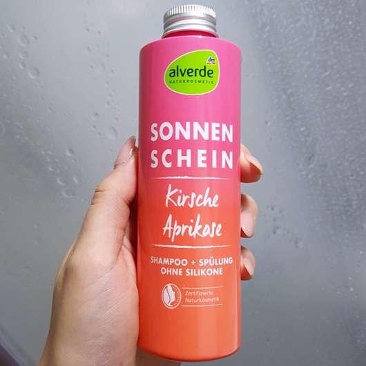 alverde Sonnenschein Shampoo + Spülung Kirsche Aprikose (LE)