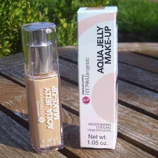 Bell HYPOAllergenic Aqua Jelly Make-Up, Farbe: 04 Golden Beige - Verpackung und Flakon