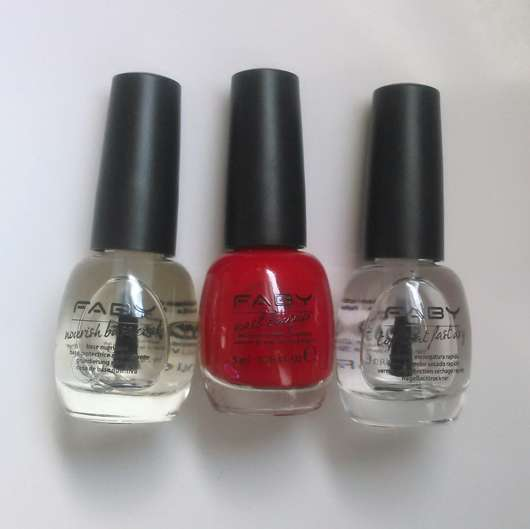 FABY Nail Lacquer Mini, Farbe: Faby's Red