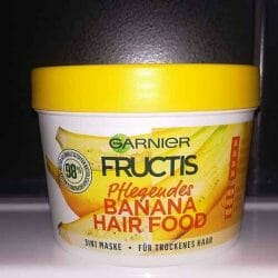 Produktbild zu Garnier Fructis Pflegendes Banana Hair Food 3in1 Maske