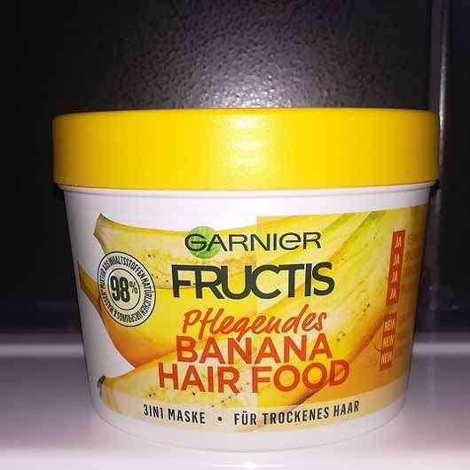 Garnier Fructis Pflegendes Banana Hair Food 3in1 Maske - Tiegel
