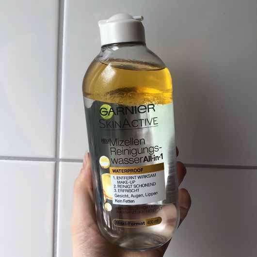 <strong>Garnier SkinActive</strong> Mizellen Reinigungswasser All-in-1 Waterproof