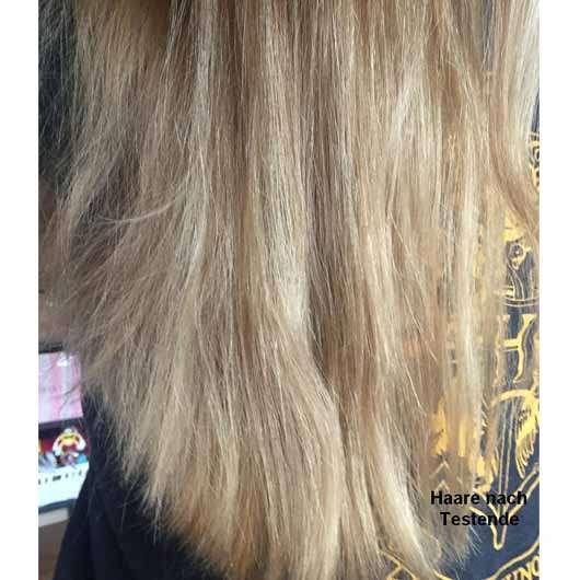 LANGHAARMÄDCHEN Angel Blond Shampoo - Haare nach der Anwendung