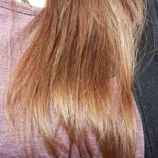 Haare zu Testbeginn - LANGHAARMÄDCHEN Pretty Brown Haarmaske
