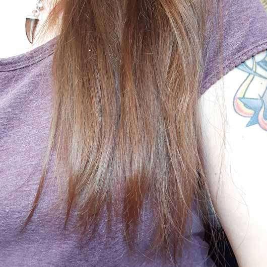 Haare nach Testende - LANGHAARMÄDCHEN Pretty Brown Haarmaske