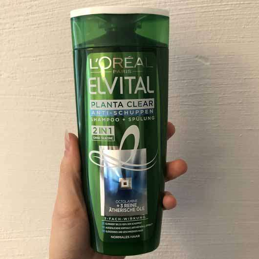 <strong>L'ORÉAL PARiS Elvital</strong> Planta Clear Anti-Schuppen Shampoo 2in1